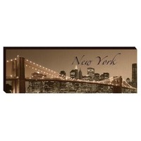 The New York Scene Canvas Wall Art (1130) - Illuminada