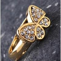The Butterfly Gold Ring - 29 N Under