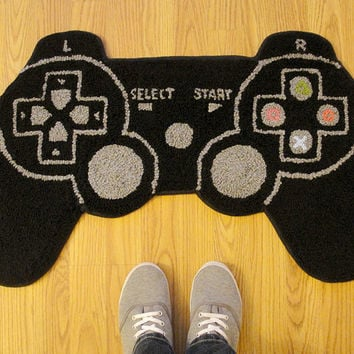 PS3 Controller Inspired Rug