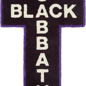 Supreme Black Sabbath Rug - Black