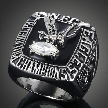 2017 New football Champion Replica Ring 1980 Philadelphia Eagles Super Bowl Championship Ring Fans Loves J02029