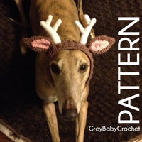 CROCHET PATTERN - Deer Antler Snood - Instant Download