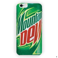 Mountain Dew Soda Drink Caffeine For iPhone 6 / 6 Plus Case
