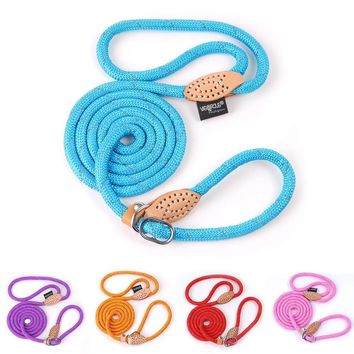 Dog Leash Reflective Dog Leash Collar Set Small Pet Leashes Chihuahua Cat Lead Puppy Leash Durable Harnesses Pet Products py0237