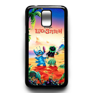 lilo and stitch disney poster Samsung Galaxy S4 Galaxy S5 Galaxy S6 Galaxy S6 Edge Galaxy S6 Edge Plus Galaxy S7|S7 Edge Case