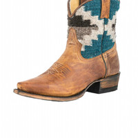 Stetson Morning Star Womens Cowboy Boots - Snip Toe