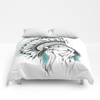 Indian Headdress Comforters by LouJah