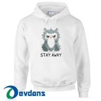 Cat Stay Away Hoodie Unisex Adult Size S to 3XL | Cat Stay Away Hoodie