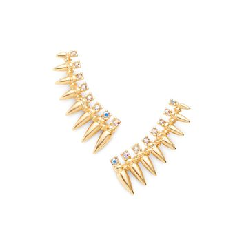 Loulou Ear Climbers in Gold | Kendra Scott Jewelry