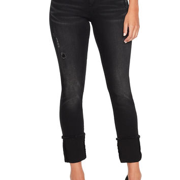 Jessica Simpson Arrow Straight Wide Cuff Jeans