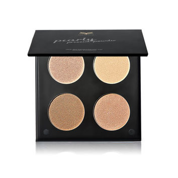 4 Colors Professional Cosmetic Long Lasting Brightener corretivo Face Powder Bronzer Highlighter Makeup Contour Palette