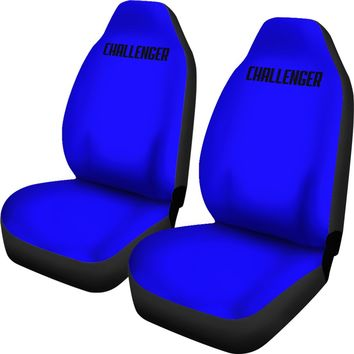 Dodge Challenger Blue Seat Covers
