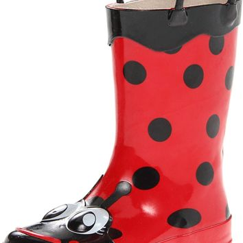 Western Chief Girls Printed Rain Boot Lucy the Ladybug 10 M US Toddler