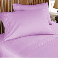 1000TC Egyptian Cotton Lilac Duvet Quilt Cover Set 3pc - Available in All Size