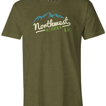 Mount T-Shirt Military Green Heather