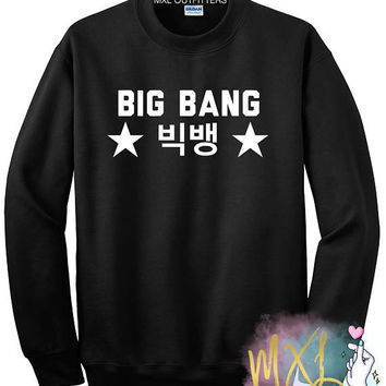 Big Bang Crewneck Sweatshirt