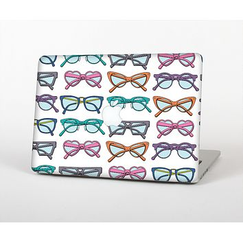 """The Various Colorful Vector Glasses Skin for the Apple MacBook Air 13"""""""