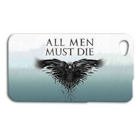 Game of Thrones ALL MEN MUST DIE Quote Phone Case iPhone Tv Show Cover Cool