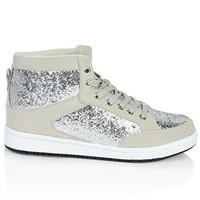 Chunky Glitter High Top Sneaker