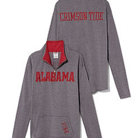 University of Alabama Raw Half-zip Pullover - PINK - Victoria's Secret