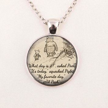 Jewelry Quote Pendant Necklace