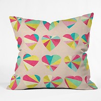 Jacqueline Maldonado Some Hearts Throw Pillow
