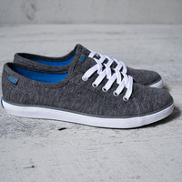 Heathered Charcoal Lace Up Keds