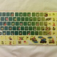 SpongeBob Squarepants Computer Keyboard 50+ Stickers