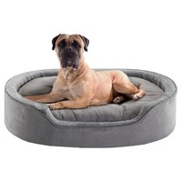 Milo Oval Cuddler Pet Bed with Cushion