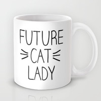 Future Cat Lady Mug by RexLambo