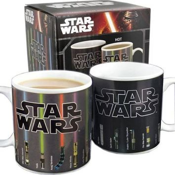 Star Wars Mug Lightsaber Change Color