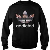 Grey's Anatomy Addicted Shirt Sweat Shirt