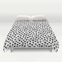 Little Hearts Duvet Cover by Elisabeth Fredriksson