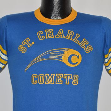 80s St Charles Comets Jersey t-shirt Small