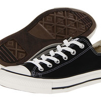 Converses Chuck Taylor All Star Lo Black White