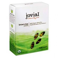 Jovial Organic Brown Rice Penne Rigate (12x12Oz)