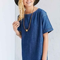 BDG Denim Dolman Shift Dress-