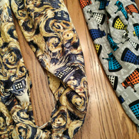 Doctor Who INFINITY SCaRF - WhoFiNiTY - TReNDY Boutique Scarf Your CHOICE!  5 FaBric Prints EXPLODinG TARDIS & More!  Designs by Sugarbear