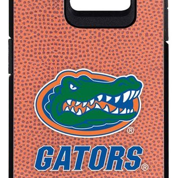 Florida Gators Classic Football Pebble Grain Feel Samsung Galaxy S6 Edge Case,One Size,Brown