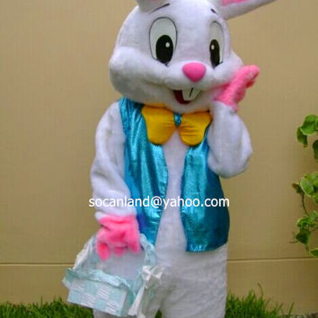 Halloween Rabbit Mascot Costume,Cosplay Costumes,Adults Costumes,Party Costumes,Halloween Costume,Easter Costumes,Rabbit Cosplay,Clothing
