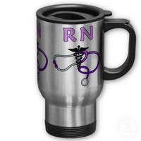 RN Stethoscope Coffee Mug from Zazzle.com