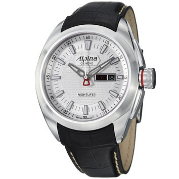 Alpina Nighlife Club Mens Swiss Quartz Watch AL242S4RC6