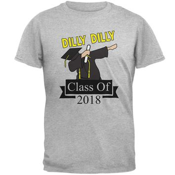 Dilly Dilly Dabbing Graduation Class Of 2018 Mens T Shirt