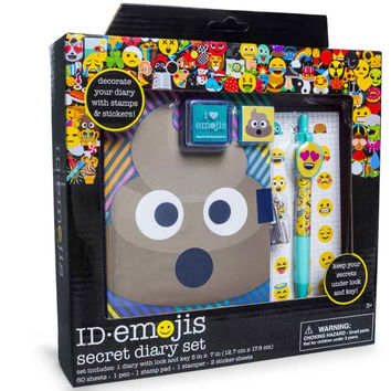 emojis secret diary set
