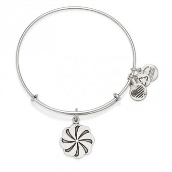 Eternity Symbol Charm Bangle