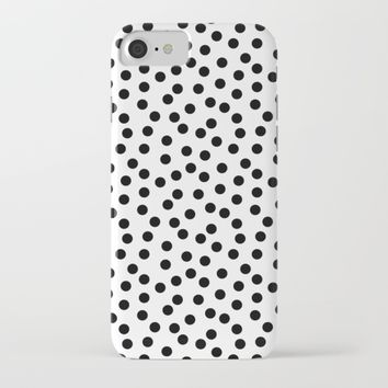 Modern Dots Pattern iPhone & iPod Case by New Wave Studio