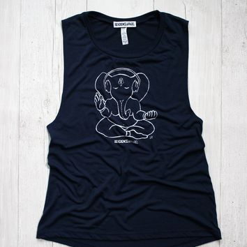 IN TUNE GANESH MUSCLE TANK
