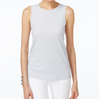 Alfani PRIMA High-Neck Tank Top, Only at Macy's - Alfani - Women - Macy's