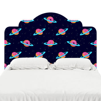 Sugar Rings of Saturn Headboard Decal
