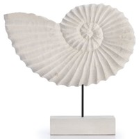 Mango Wood Nautilus Shell | Objects of Art | Decorative Accessories | Home Accents | Decor | Z Gallerie
